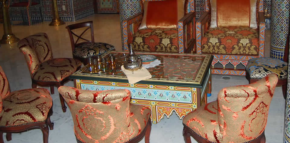 Moroccan wood chair 4. Moroccan Wood Chairs