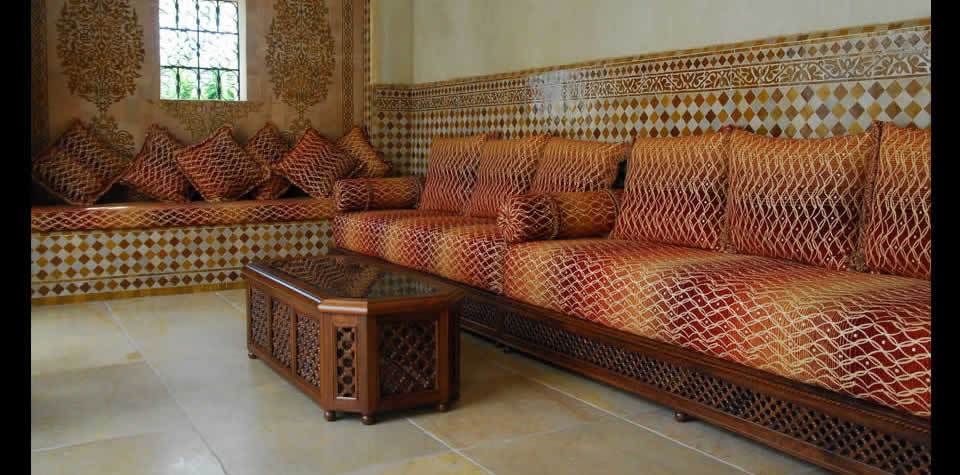 Moroccan Wood coffee tables
