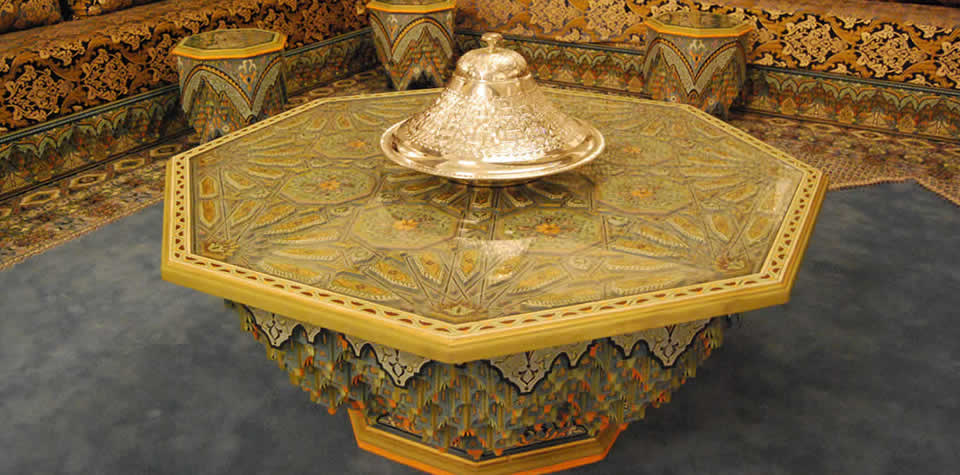 Moroccan dinning table 1. Moroccan Wood dining tables