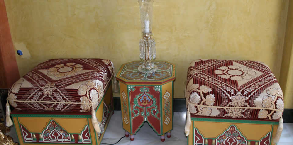 Moroccan End Table 5