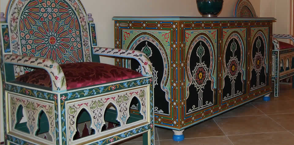 Moroccan wood sofa 4. Moroccan Wood sofas and loveseats