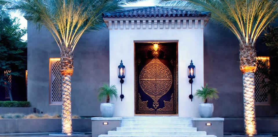 & Moroccan Brass Doors