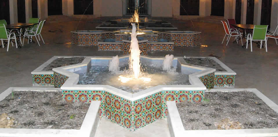 Moroccan Tiles Fountains