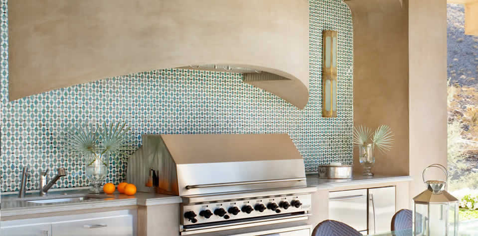 Moroccan Tiles Kitchen 5