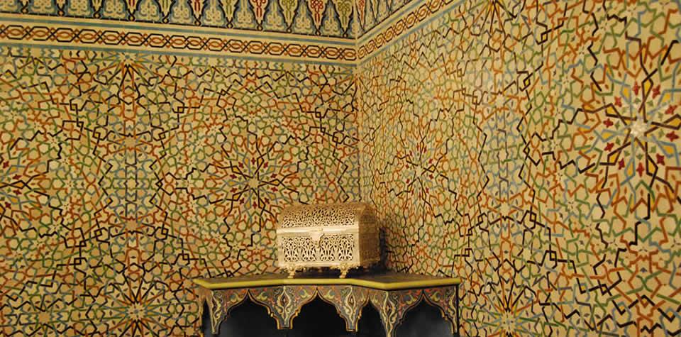 Moroccan Tile Wall 1