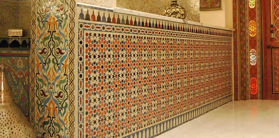 Moroccan Tile Wall 2