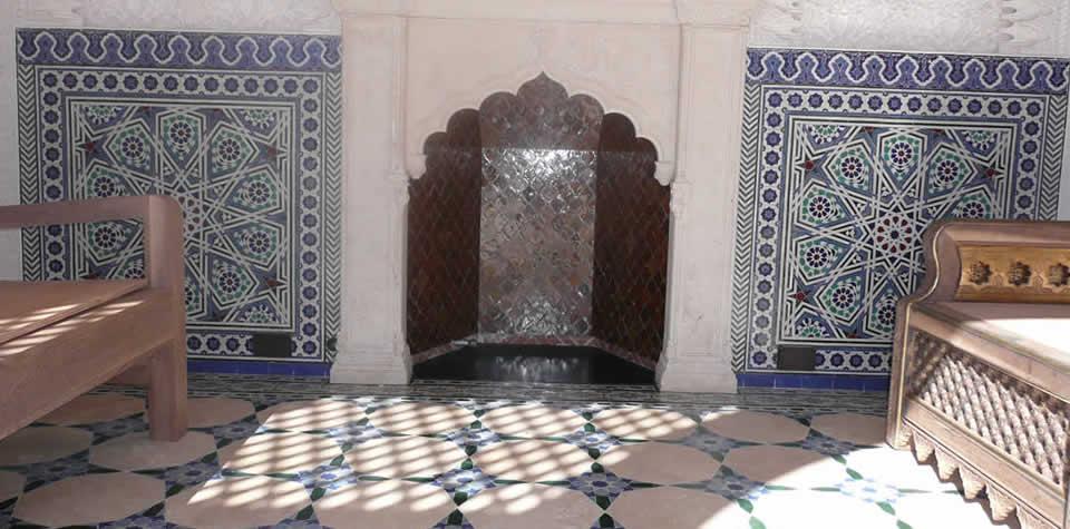 Moroccan Tiles Wall