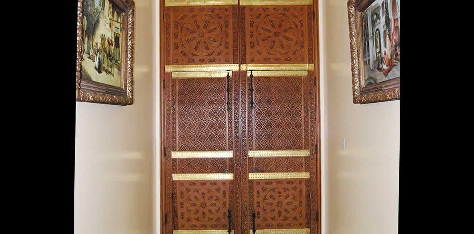 Moroccan Wood Door 10 & Moroccan Wood doors