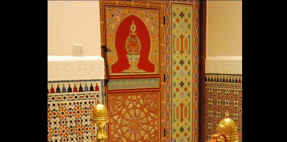 Moroccan Wood Door 4  sc 1 st  Moroccan Tiles Manufacturer & Moroccan Wood doors pezcame.com